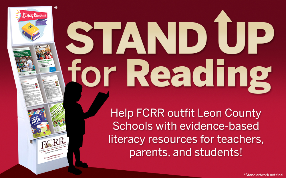 STAND UP for Reading